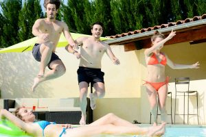 groepsaccommodatie voor groep met zwembad