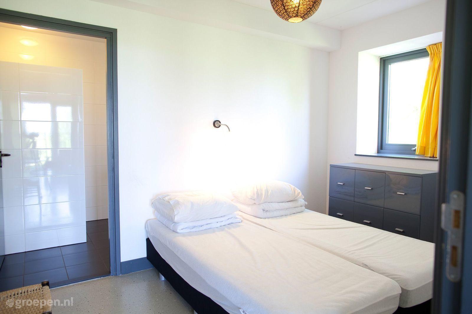 Groepsaccommodatie Waarland - Nederland - Noord-Holland - 30 personen - slaapkamer